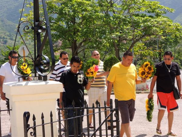 El Cobre, girasoles para Oshún 2012