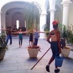 La Habana, taller durante Ciudad en Movimiento 2010