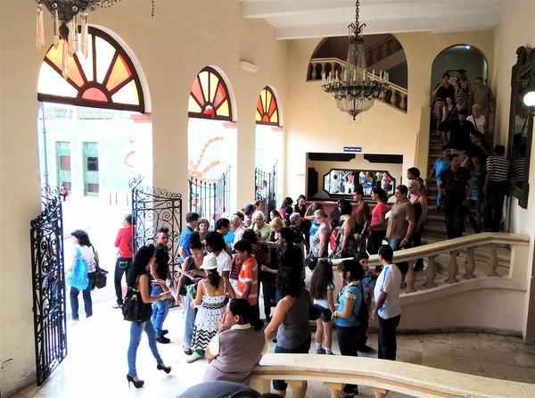 Despues de la funcion en Camaguey, Dia Internacional de la Danza 2012