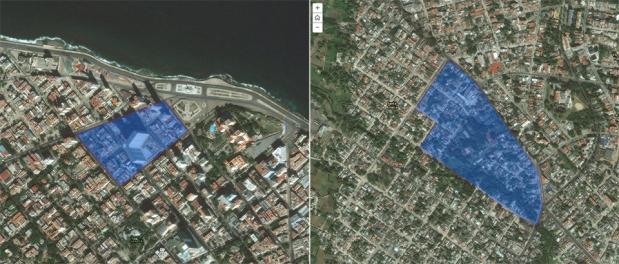 N° 7 Plaza (c'est précisément dans ce pâté de maison que je loge !) et N° 111 Arroyo Naranjo 2015