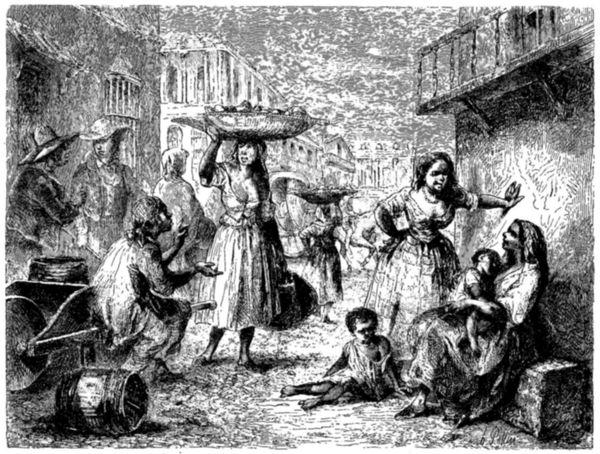 Calles de La Habana, 1860