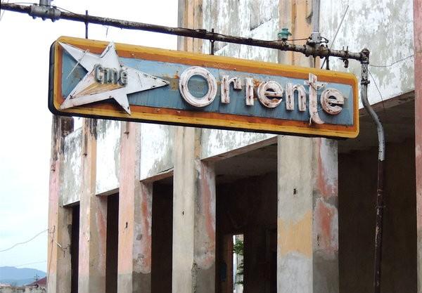 Santiago, Ciné Oriente 2012 (était toujours dans le même état en 2013)