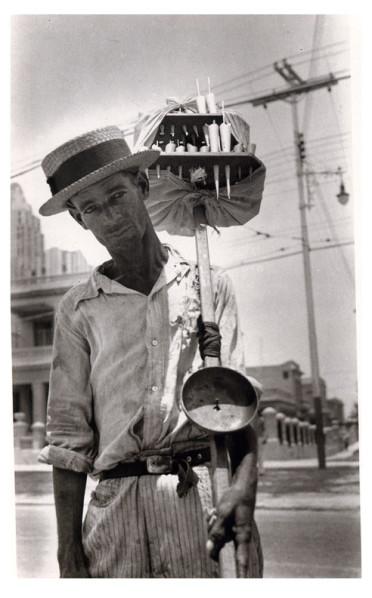 Walker Evans, el manicero 1933