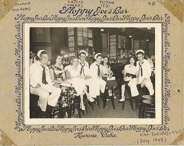 Sloppy Joe's, marines et leurs amies 1948. Droits réservés