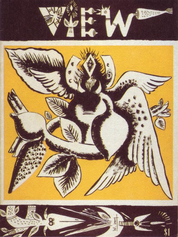 Wifredo Lam, couverture magazine View, 1945. Droits réservés.