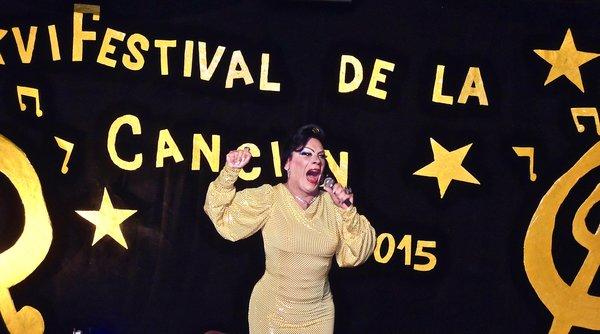 Show de travestis, Cuba octobre 2015