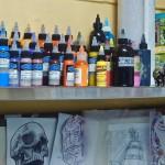 La Marca, galerie et salon de tatouage, encres fraîches 2015