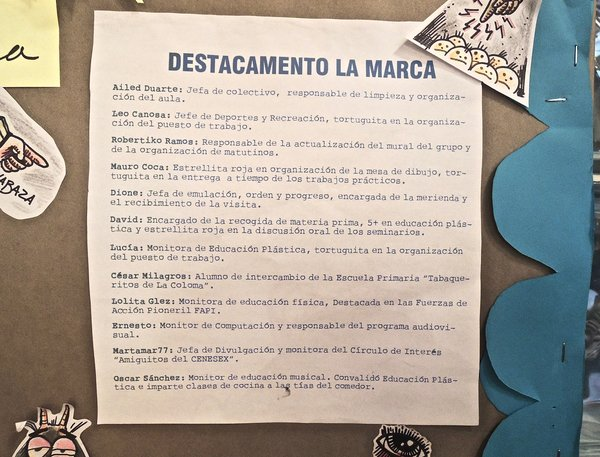 """La Marca, galerie et salon de tatouage, """"détachement La Marca"""" 2015"""