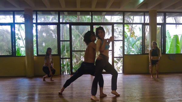 Danza Contemporanea de Cuba : répétitions de Reversible