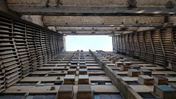 Edificio Girón 1967 - 2016, puits de lumière.