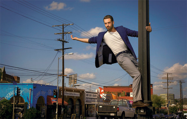 Benjamin Millepied, Los Angeles 2012. Photo droits réservés.