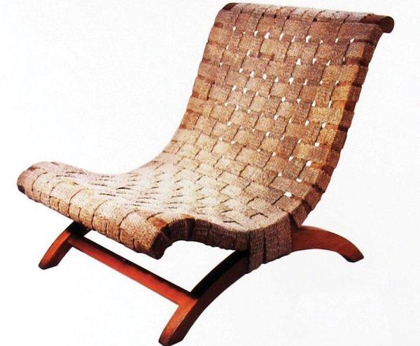 Clara Porset, le fameux fauteuil inspiré du butaque yucateco, 1950. Photo revistacodigo.com. Droits réservés.