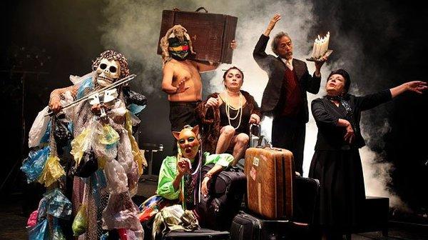 El Teatro Ryuyachkani du Pérou dans Cartas de Chimbote. Droits réservés.