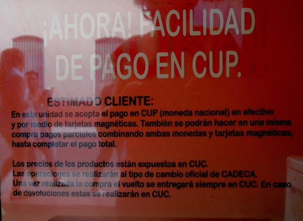 Matanzas, facilidad de pago en CUP 2015