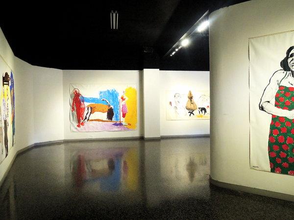 Galeria Habana, expo Palabras de Santiago Rodríguez Olazábal, 2015