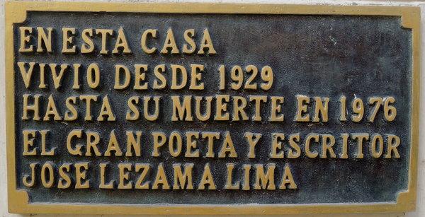 La Habana, casa de Jose Lezama Lima 2015