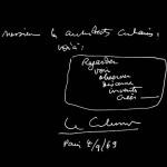 Message du Corbusier aux architectes cubains, 1963