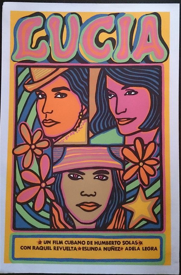 Lucia, film de Humberto Solas, 1968, affiche de Raul Martinez - droits réservés