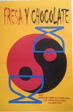 Affiche Fresa y Chocolate 1993