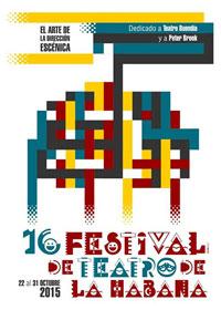 affiche 16e Festival de Teatro de La Habana
