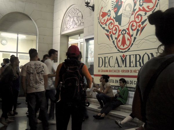 La Havane, Teatro Trianon, décembre 2014
