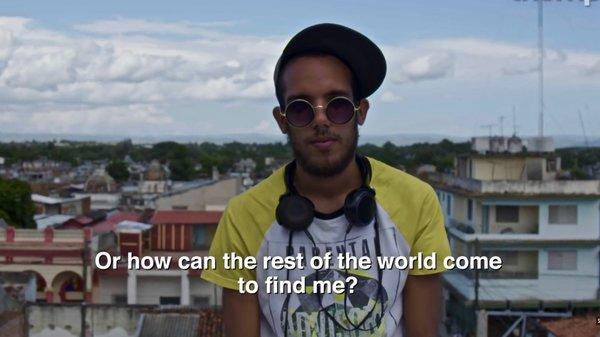 Zevil, DJ et producteur de Gantanamo. Thump Subculture - Cuba. Droits réservés.