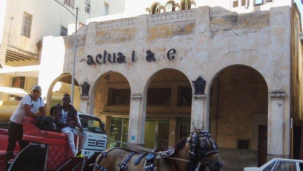 Ciné Actualidades, calle Monserrate entre Neptuno y Ánimas, Centro Habana