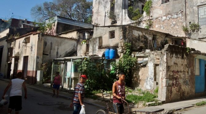Habana Vieja : l'accident non accidentel