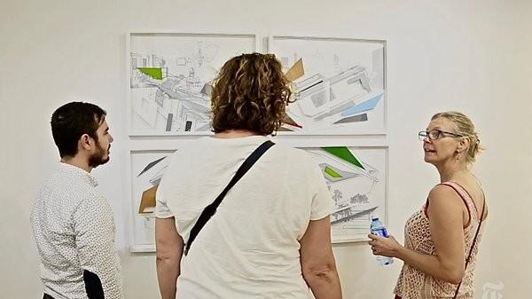 331 Art Space, dialogue artiste - visiteurs. Photo droits réservés.