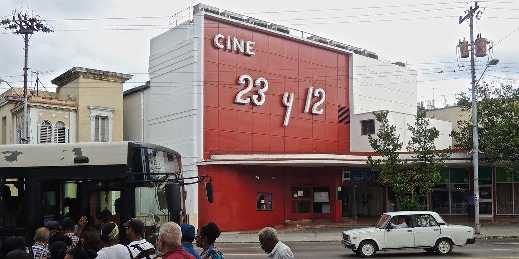La Havane, ciné 23 y 12, Cinemateca de Cuba 2015