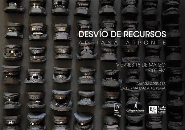 Adriana Arronte, Desvio de recursos, affiche