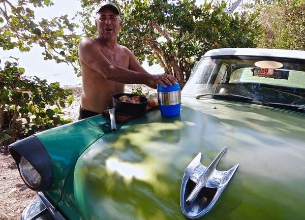 Cangrejo à la Ford, surprise : le congri