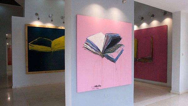 Carlos Quintana, expo Save Mucho à la Galeria Artis 718, 2016.