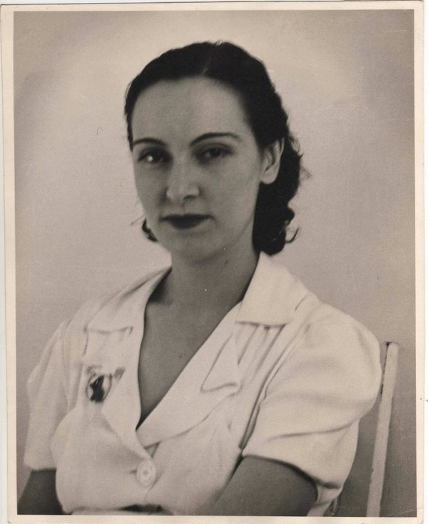 Carmen Herrera à Paris, 1959.