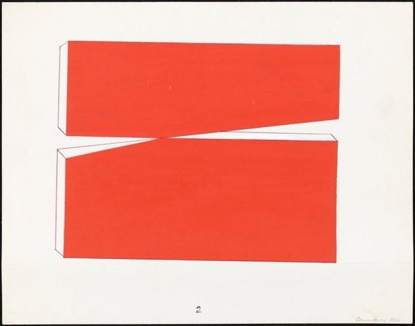 Carmen Herrera, untitled (1966) droits réservés