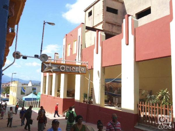 Ciné-Teatro Oriente partiellement rénové. Photo Reinaldo Cedeño, droits réservés.