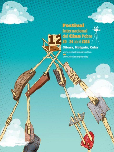 Affiche du Festival Internacional del Ciné Pobre de Gibara, 2016