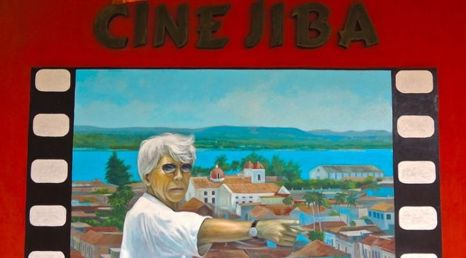 Gibara, ciné Giba, siège du Festival Internacional del Cine Pobre 2016. Photo Céline Gruyer senredipia-cc.com