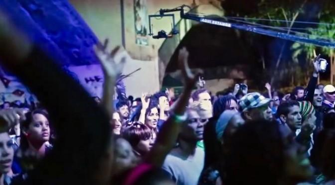 La Havane, World Music Festival 2015 pont Almendares. Photogramme extrait de la vidéo promotionnelle, droits réservés.
