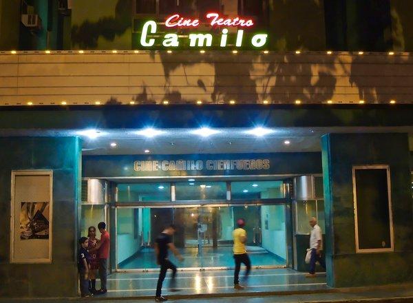 Santa Clara, ciné Camilo Cienfuegos (Camilo pour les intimes) 2015